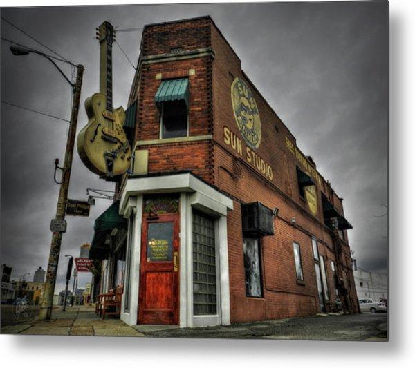 Memphis - Sun Studio 002 Metal Print