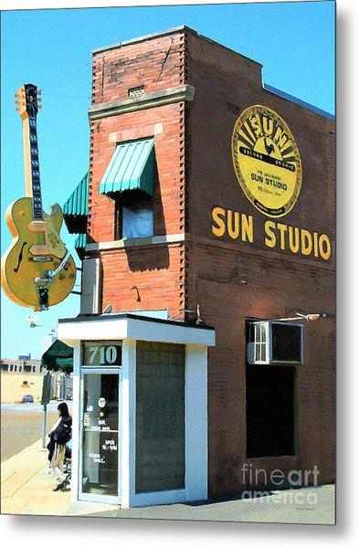 Memphis Sun Studio Birthplace Of Rock And Roll 20160215 Metal Print