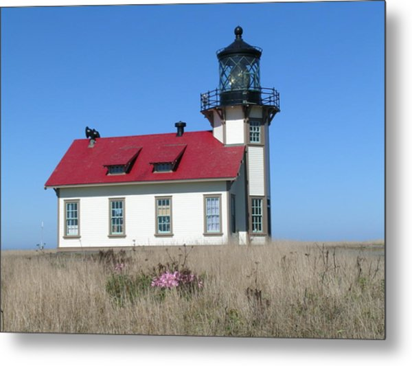 Mendocino Lighthouse Metal Print
