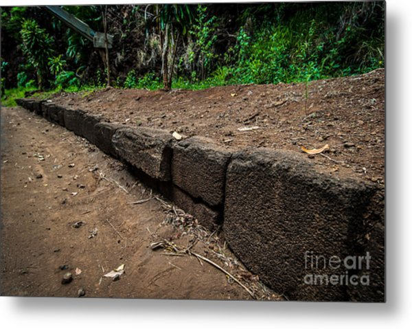 Menehune Ditch Kauai Metal Print
