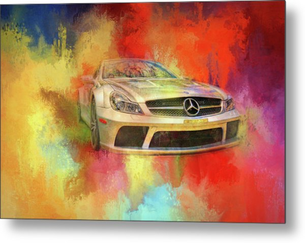 Merc Hot Rod Metal Print