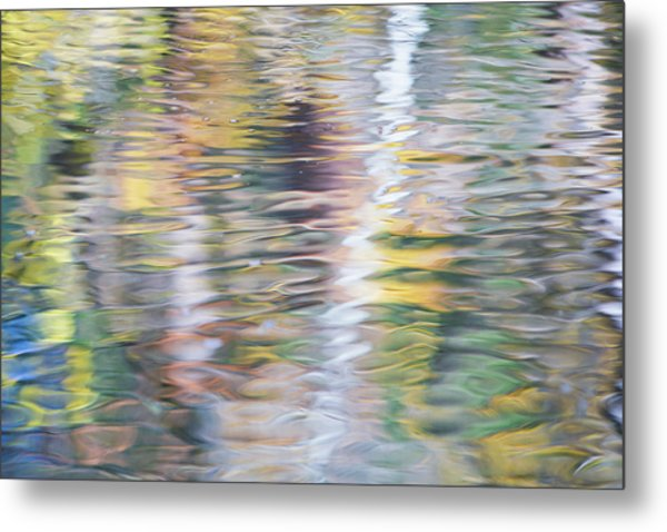 Merced River Reflections 10 Metal Print