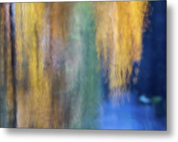 Merced River Reflections 17 Metal Print