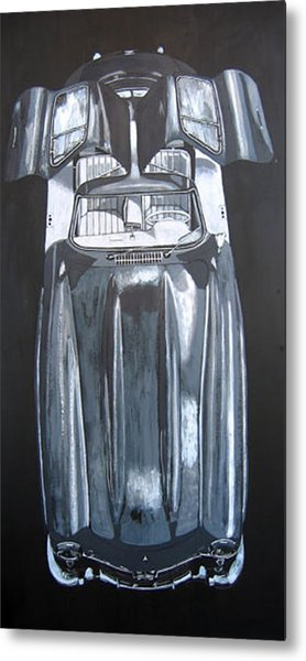 Mercedes Benz Gullwing Metal Print