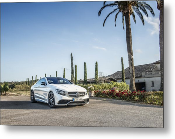 Mercedes Benz S63 Coupe Metal Print