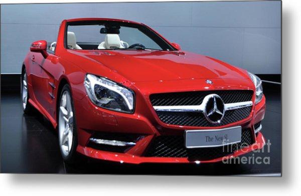 Mercedes Benz Sl Metal Print