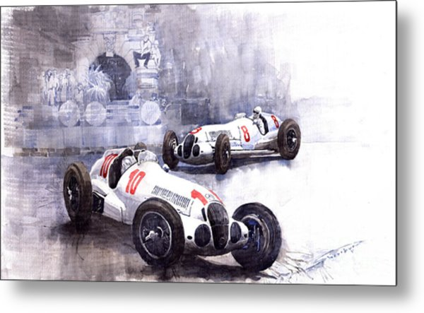Mercedes Benz W 125 1938 Metal Print