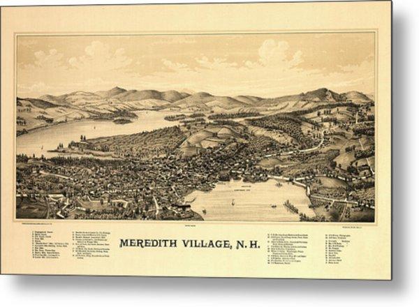 Meredith Village, N.h. Metal Print