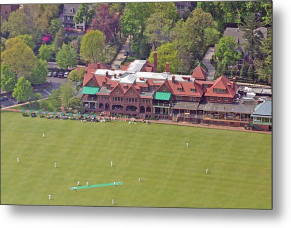 Merion Cricket Club Cricket Festival Clubhouse Metal Print