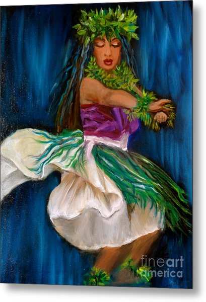 Merrie Monarch Hula Metal Print