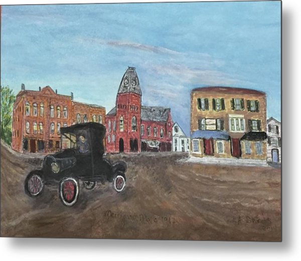 Old New England Town Metal Print
