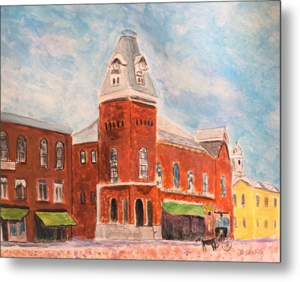 Merrimac Massachusetts Metal Print