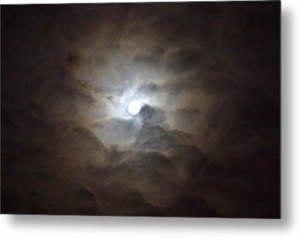 Messianic Moon Metal Print