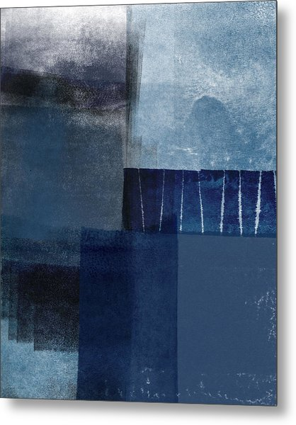 Mestro 1- Abstract Art By Linda Woods Metal Print