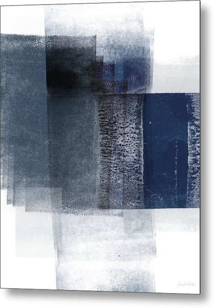 Mestro 2- Abstract Art By Linda Woods Metal Print