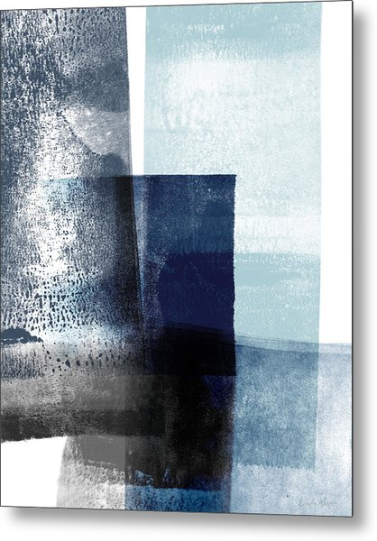 Mestro 4- Abstract Art By Linda Woods Metal Print