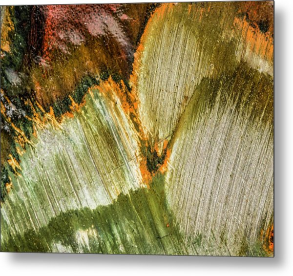 Metal Print featuring the photograph Metal Abstract  by David Waldrop
