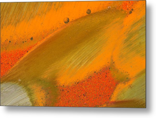 Metal Print featuring the photograph Metal Abstract Four by David Waldrop