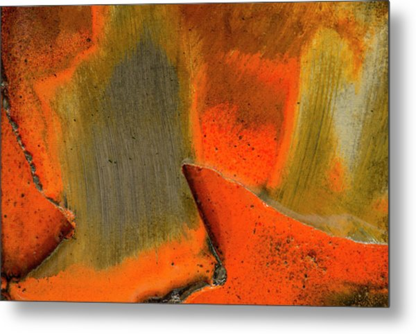 Metal Print featuring the photograph Metal Abstract Three by David Waldrop