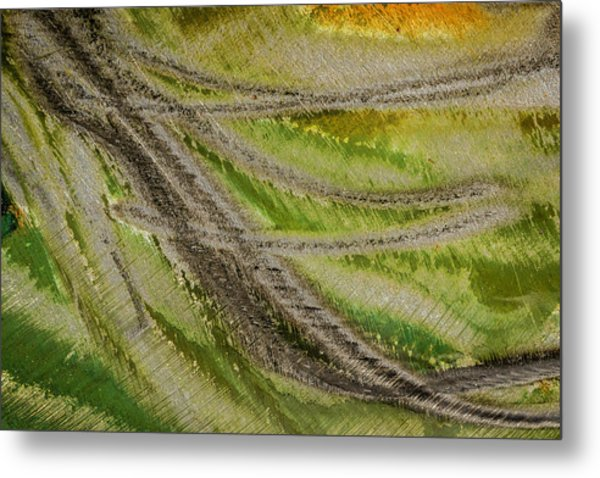 Metal Print featuring the photograph Metal Abstract Two by David Waldrop