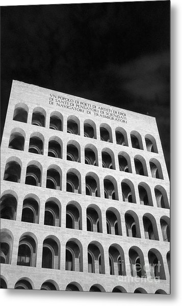 Metaphysical Arches II Metal Print