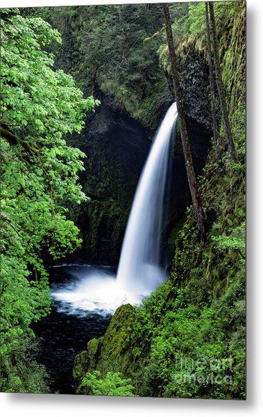 Metlako Falls Waterfall Art By Kaylyn Franks Metal Print