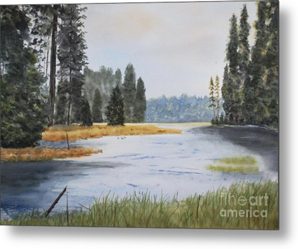 Metolius River Headwaters Metal Print