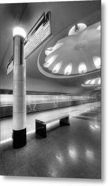 Metro #1591 Metal Print