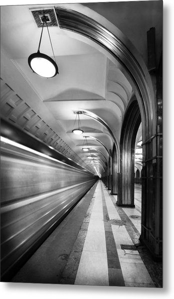 Metro #5147 Metal Print