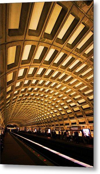 Metro Station Metal Print