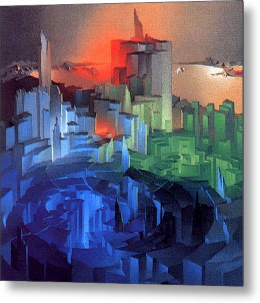 Metropolis 1975 Metal Print
