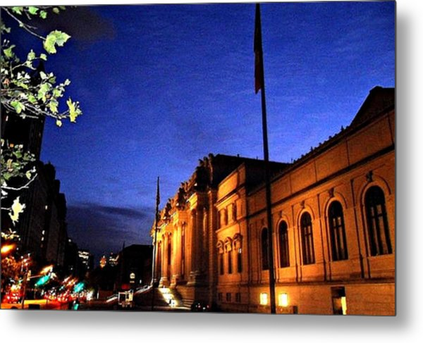 Metropolitan Museum Of Art Nyc Metal Print