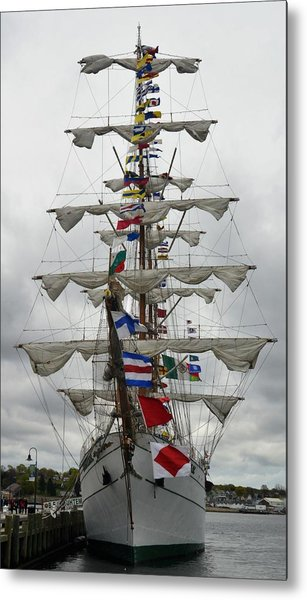 Mexican Navy Ship Metal Print