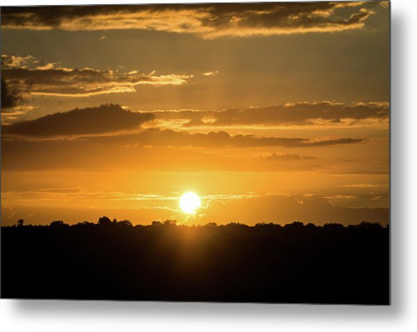 Mexico Sunset Metal Print