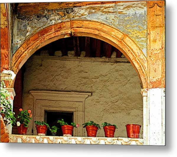 Mezzanine 1 Metal Print by Mexicolors Art Photography