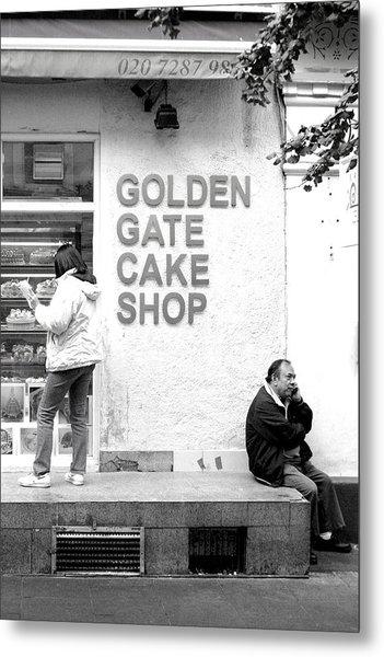 mhh Cake Metal Print by Jez C Self