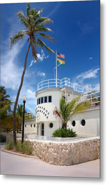 Miami Beach Patrol Hq Metal Print