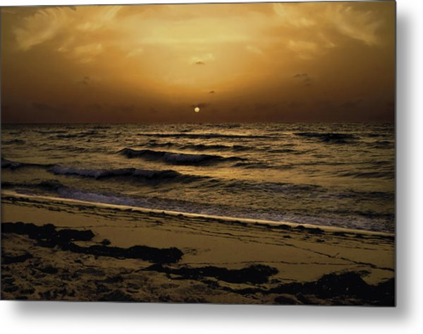 Miami Sunrise Metal Print