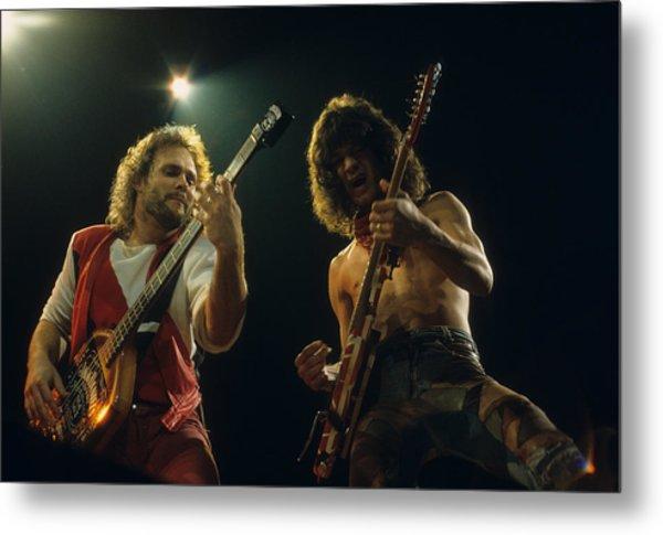 Michael And Eddie Metal Print