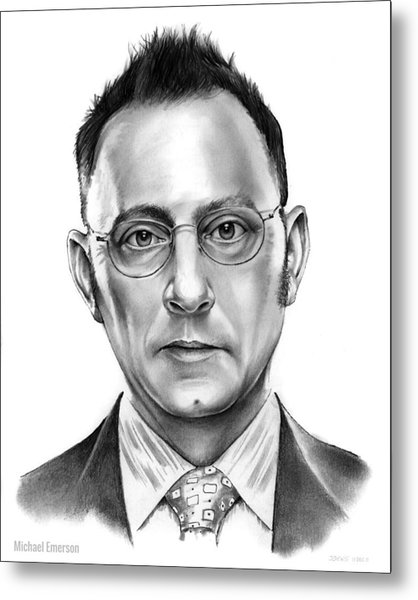 Michael Emerson Metal Print