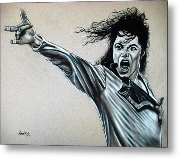 Michael Jackson Metal Print by Anastasis  Anastasi