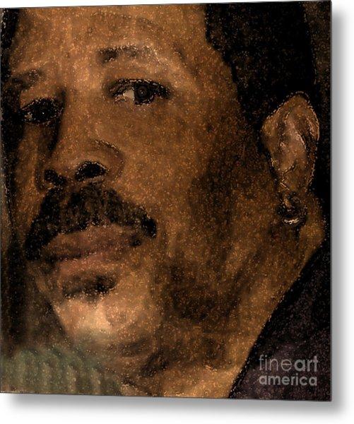 Michael Portrait Metal Print