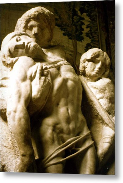 Michelangelo Unfinished Work Metal Print