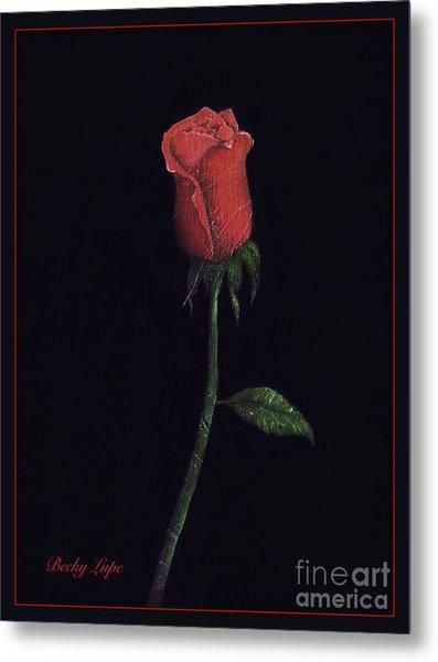The Perfect Rose 2 Metal Print