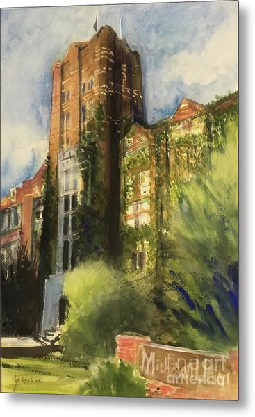 Michigan Union Metal Print