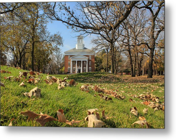 Middle College On An Autumn Day Metal Print