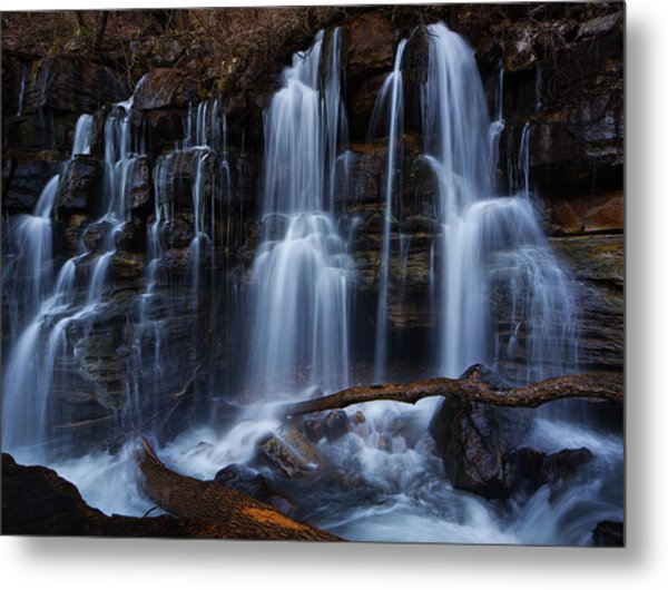 Middle Creek Falls Metal Print