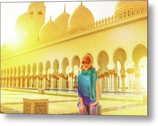 Middle East Tourism Concept Metal Print