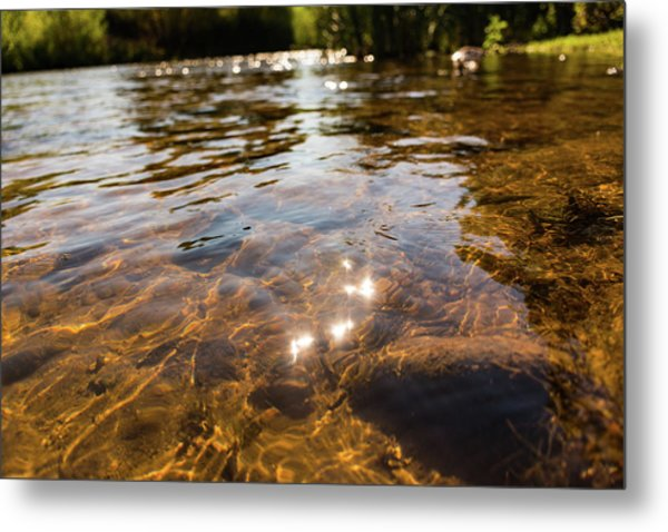 Middle Of The River Metal Print