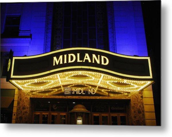 Midland Theater Metal Print
